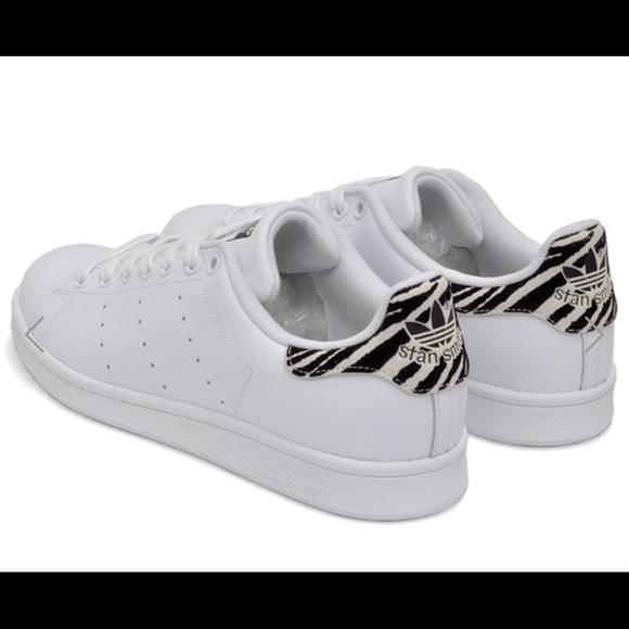 Adidas Stan Smith PreLoved Zebra Sz 8.5M (Wmns)